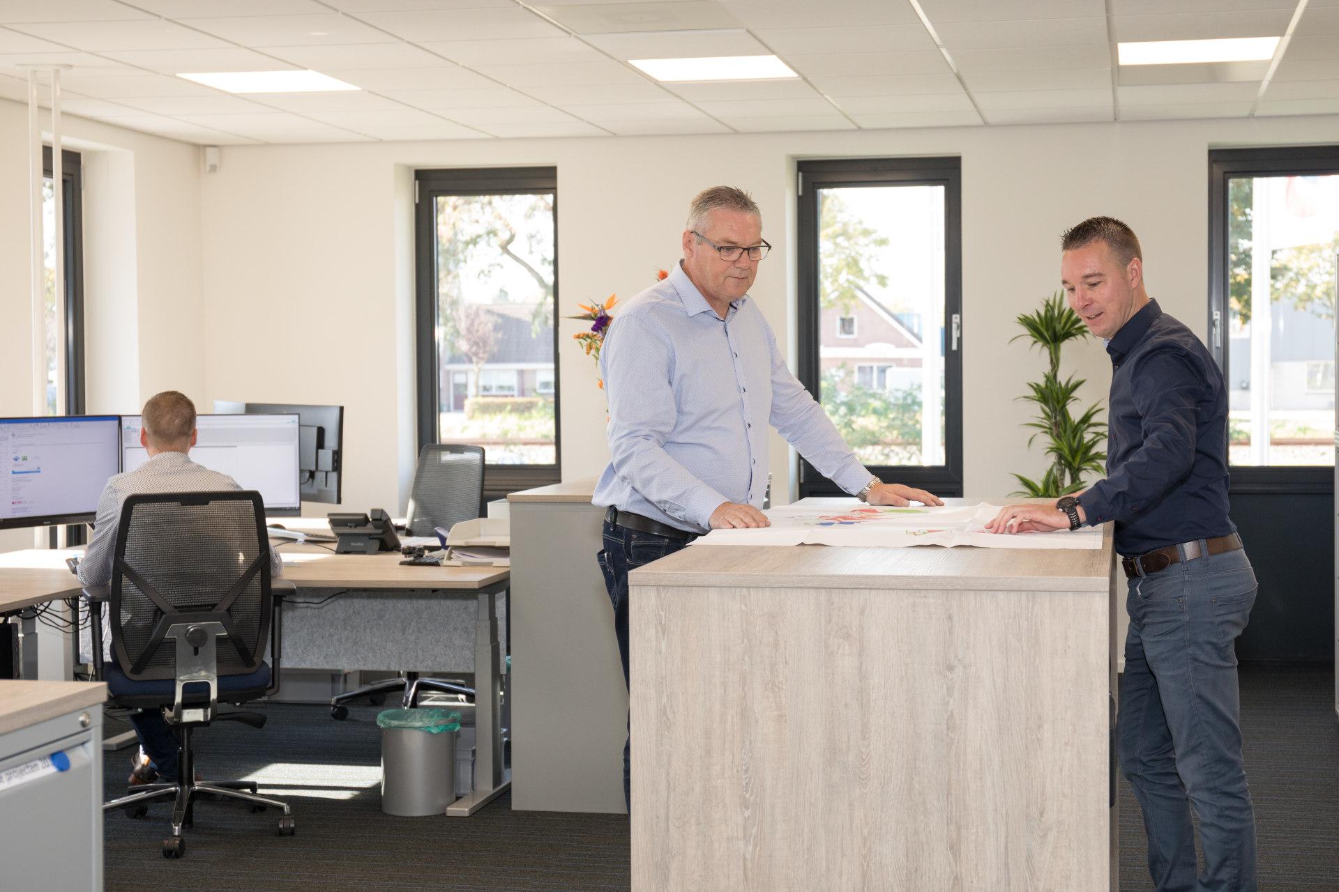 Stiso Staphorst kantoor overleg